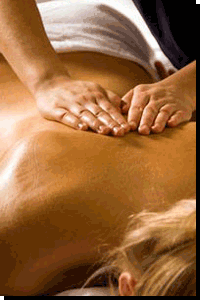 Relief for tight muscles, aching back and feeling stressed can come from a sootheing massage that provides complete relaxation.